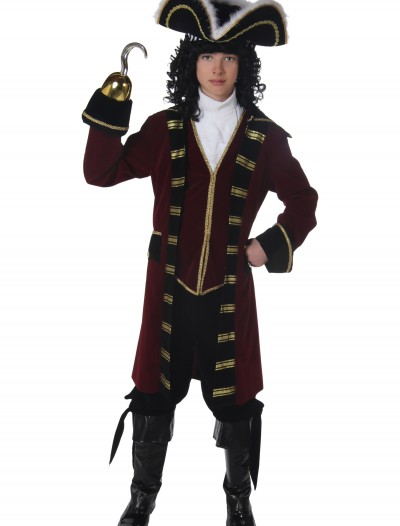 Teen Captain Hook Costume, halloween costume (Teen Captain Hook Costume)