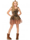 Teen Cave Girl Cutie Costume, halloween costume (Teen Cave Girl Cutie Costume)
