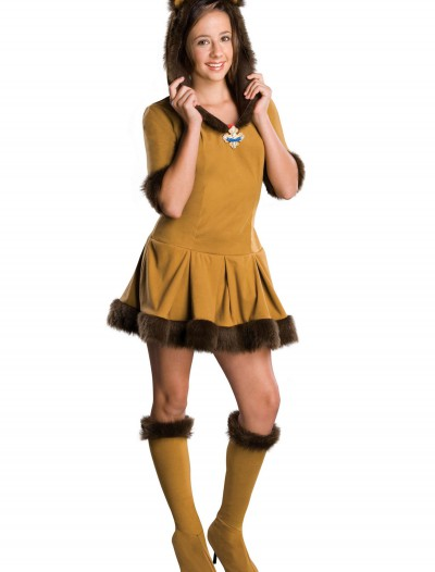 Teen Cowardly Lion Costume, halloween costume (Teen Cowardly Lion Costume)