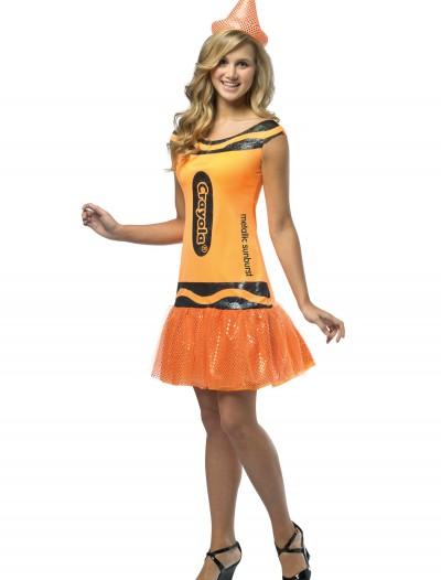 Teen Crayola Metallic Sunburst Glitz Dress, halloween costume (Teen Crayola Metallic Sunburst Glitz Dress)