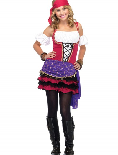 Teen Crystal Ball Gypsy Costume, halloween costume (Teen Crystal Ball Gypsy Costume)