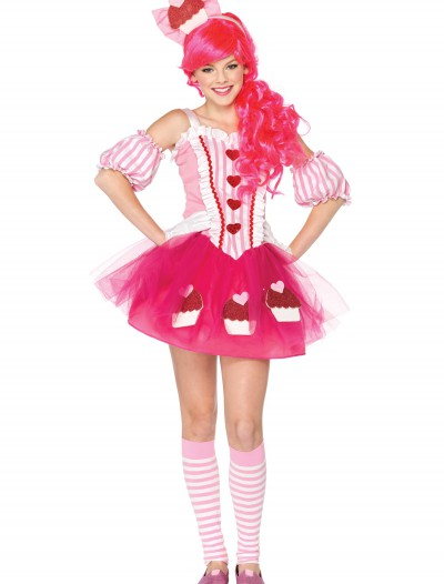 Teen Cupcake Sweetie Costume, halloween costume (Teen Cupcake Sweetie Costume)