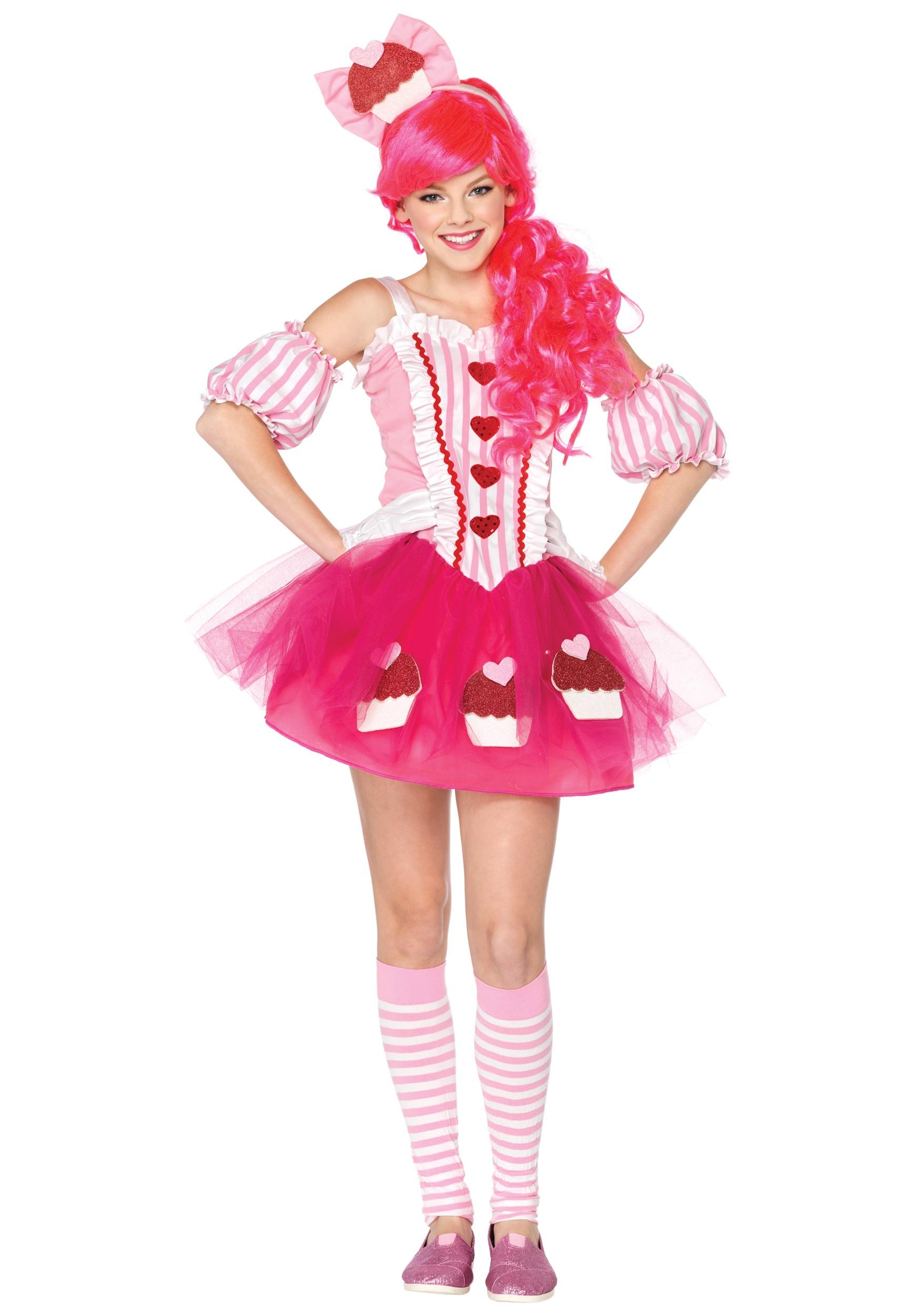 Teen Cupcake Sweetie Costume  sc 1 st  Halloween Costumes & Teen Cupcake Sweetie Costume - Halloween Costumes