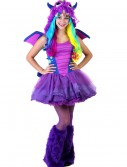 Teen Darling Dragon Costume, halloween costume (Teen Darling Dragon Costume)