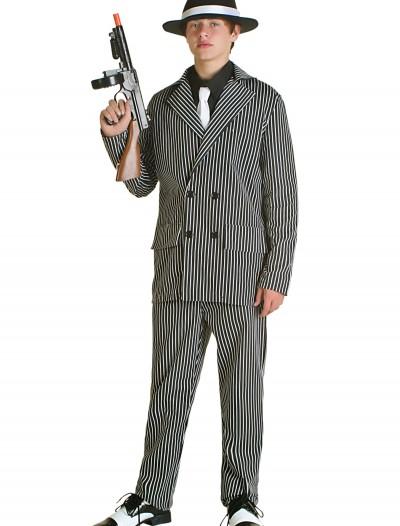 Teen Deluxe Gangster Costume, halloween costume (Teen Deluxe Gangster Costume)