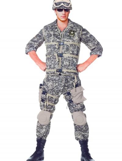Teen Deluxe U.S. Army Ranger Costume, halloween costume (Teen Deluxe U.S. Army Ranger Costume)