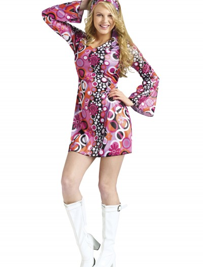 Teen Feelin Groovy Dress, halloween costume (Teen Feelin Groovy Dress)