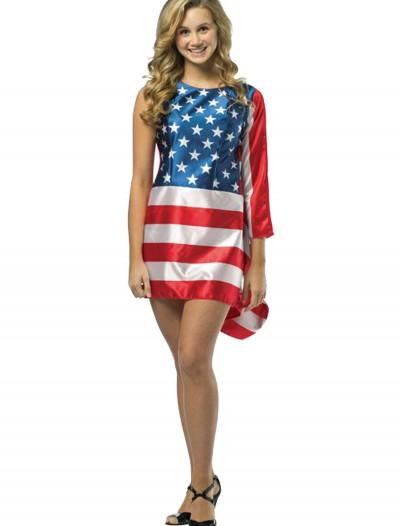 Teen Flag Dress, halloween costume (Teen Flag Dress)