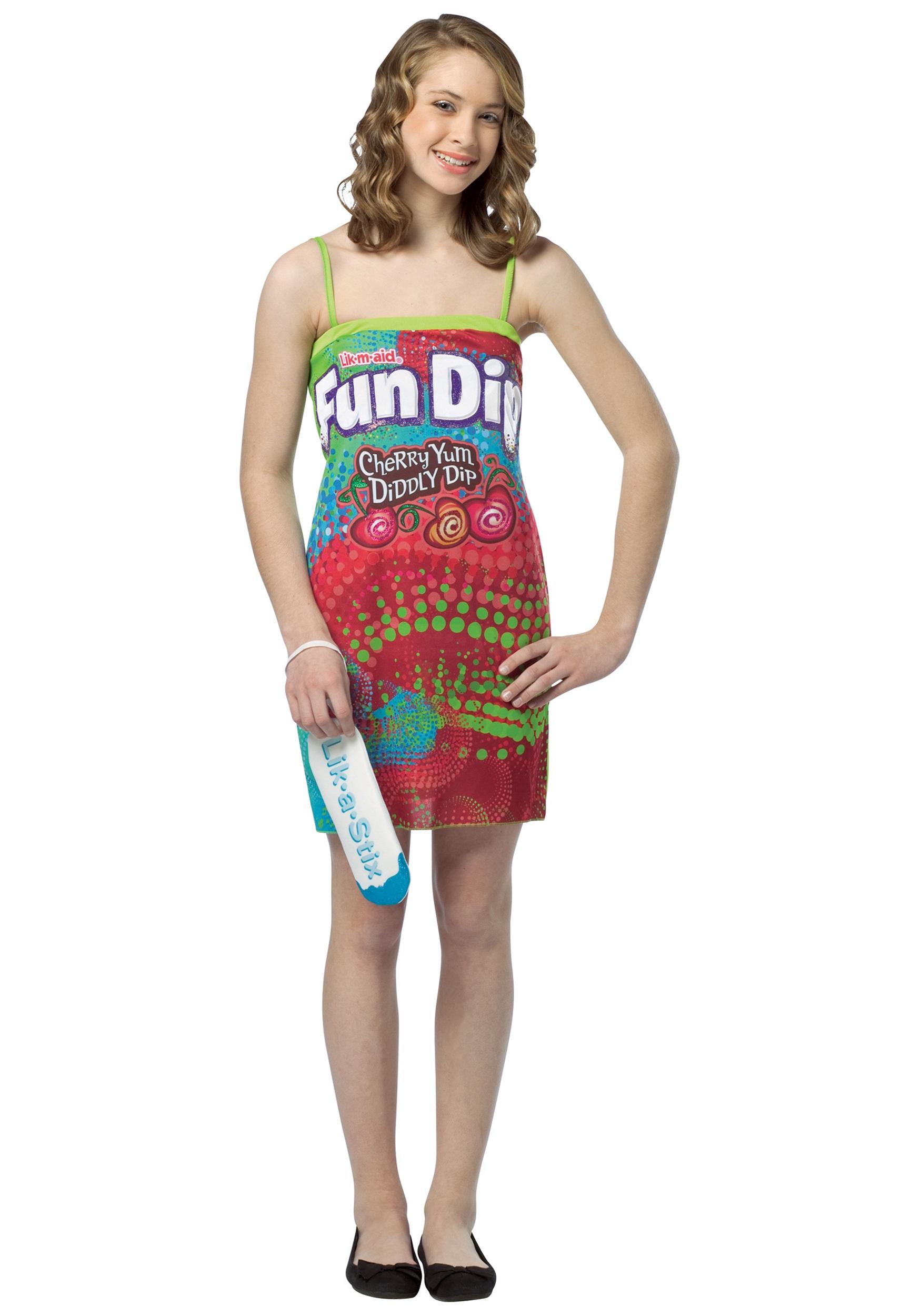 Teen Fun Dip Dress - Halloween Costumes