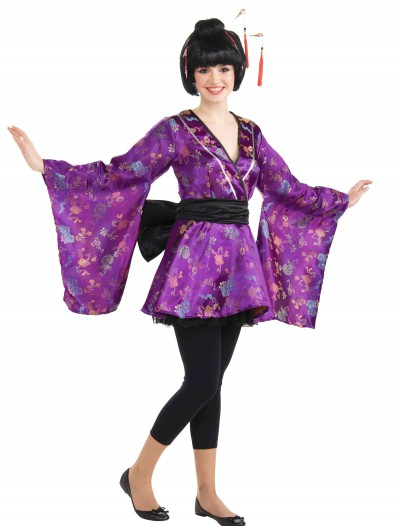 Teen Geisha Girl Costume, halloween costume (Teen Geisha Girl Costume)