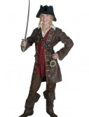 Teen Girls Caribbean Pirate Costume, halloween costume (Teen Girls Caribbean Pirate Costume)