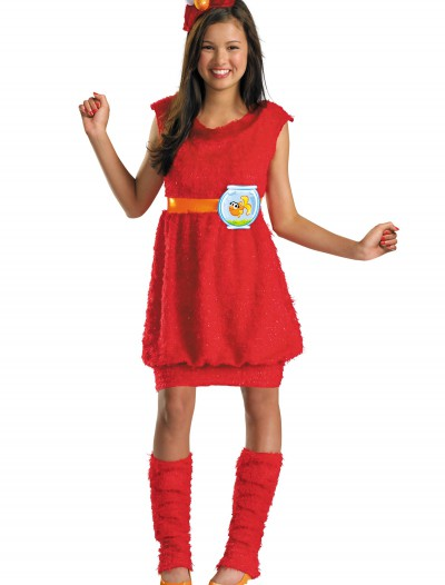 Teen Girls Elmo Costume, halloween costume (Teen Girls Elmo Costume)