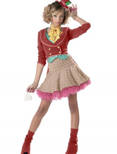 Teen Girls Mad Hatter Costume, halloween costume (Teen Girls Mad Hatter Costume)