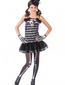 Teen Girls Skeleton Costume, halloween costume (Teen Girls Skeleton Costume)