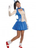 Teen Girls Sonic Dress Costume, halloween costume (Teen Girls Sonic Dress Costume)
