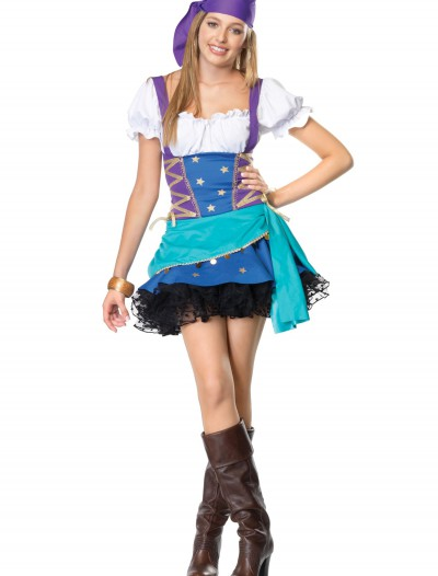 Teen Gypsy Costume, halloween costume (Teen Gypsy Costume)