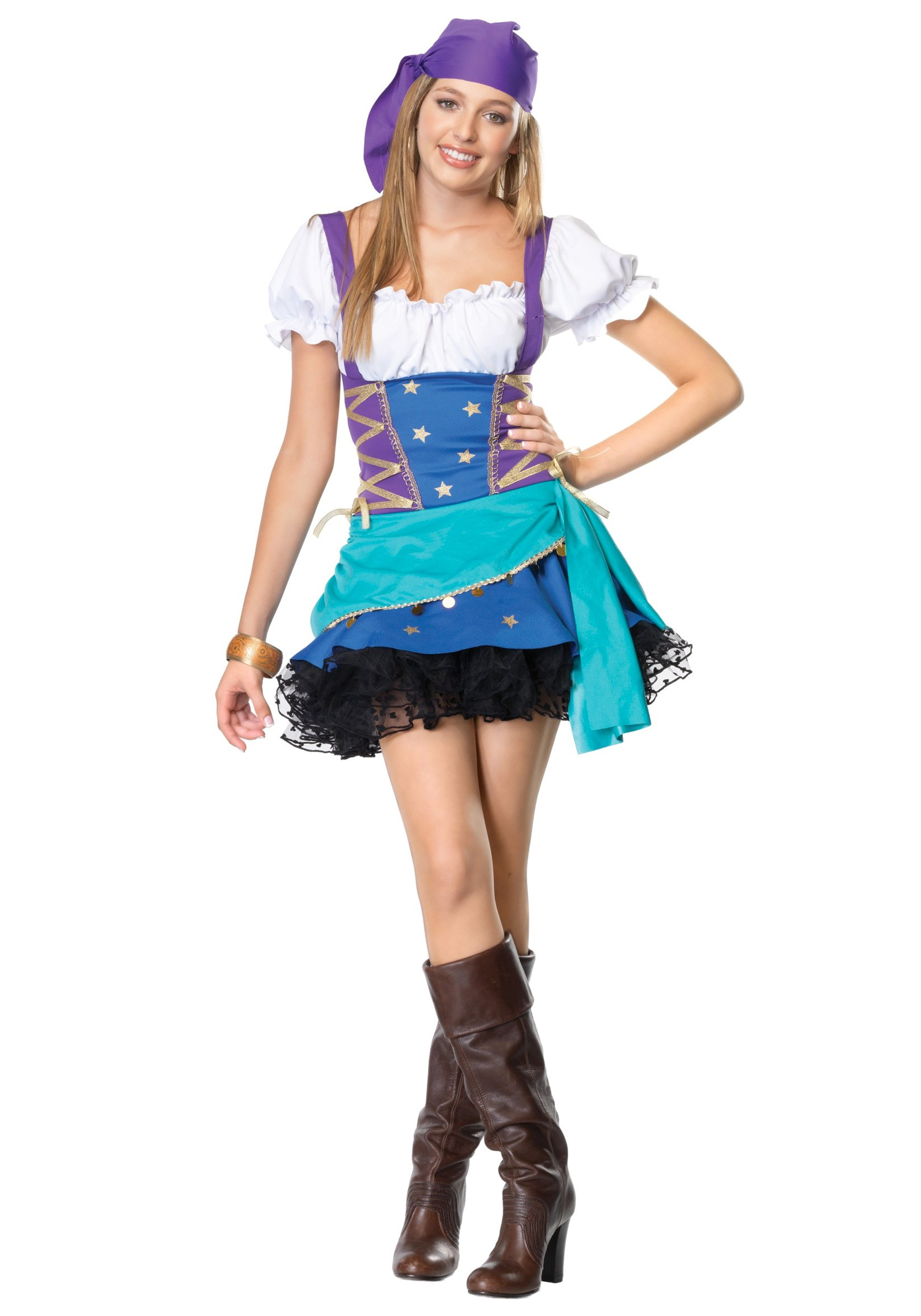 teen gypsy costume - halloween costumes