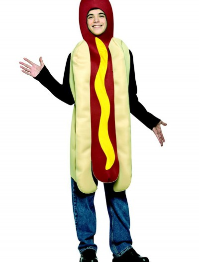 Teen Hot Dog Costume, halloween costume (Teen Hot Dog Costume)
