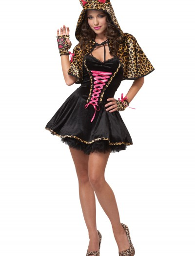 Teen Leopard Kitty Costume, halloween costume (Teen Leopard Kitty Costume)