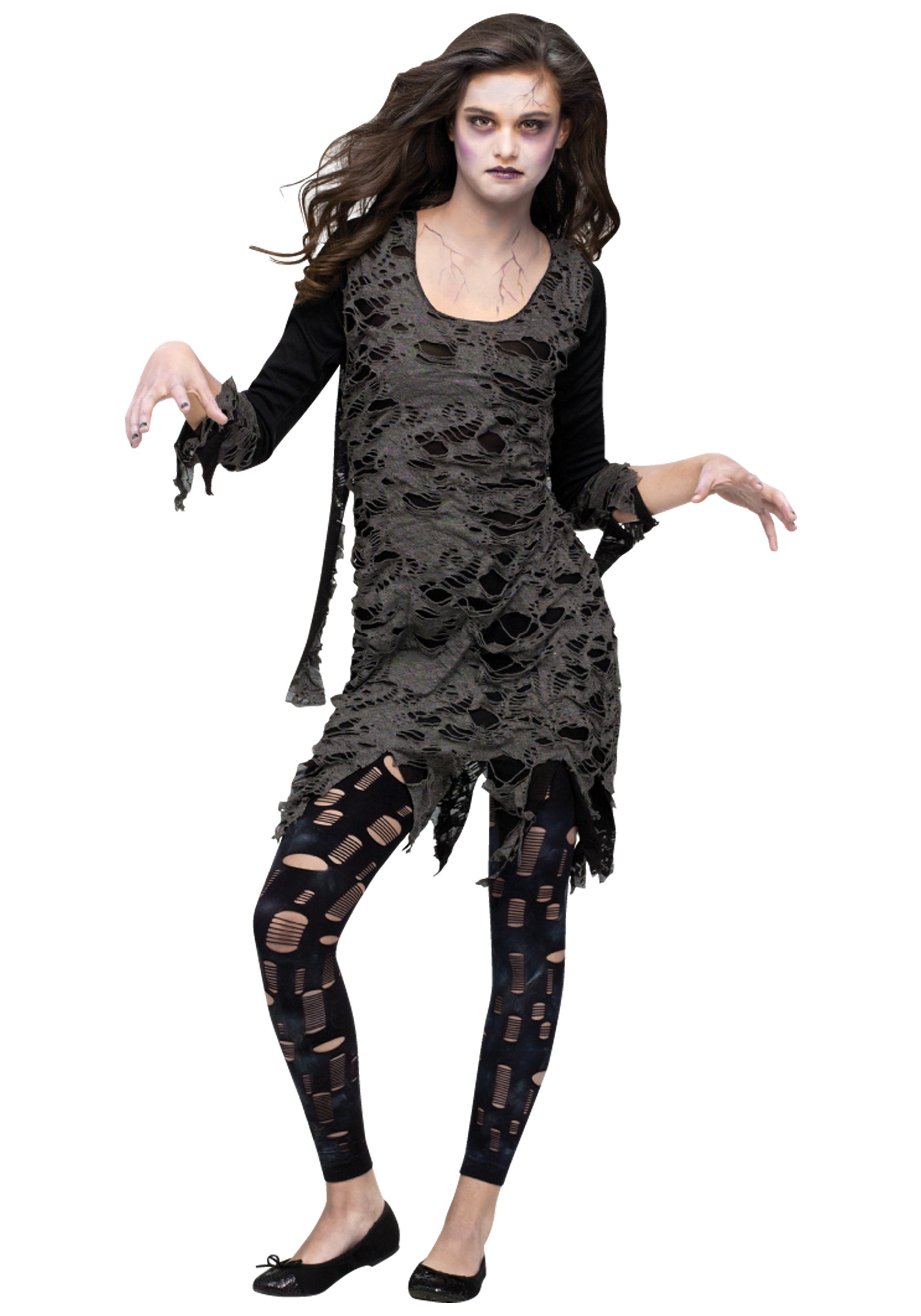 teen living dead costume - halloween costumes