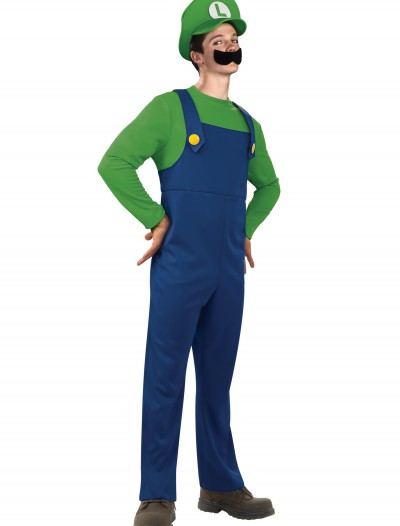 Teen Luigi Costume, halloween costume (Teen Luigi Costume)