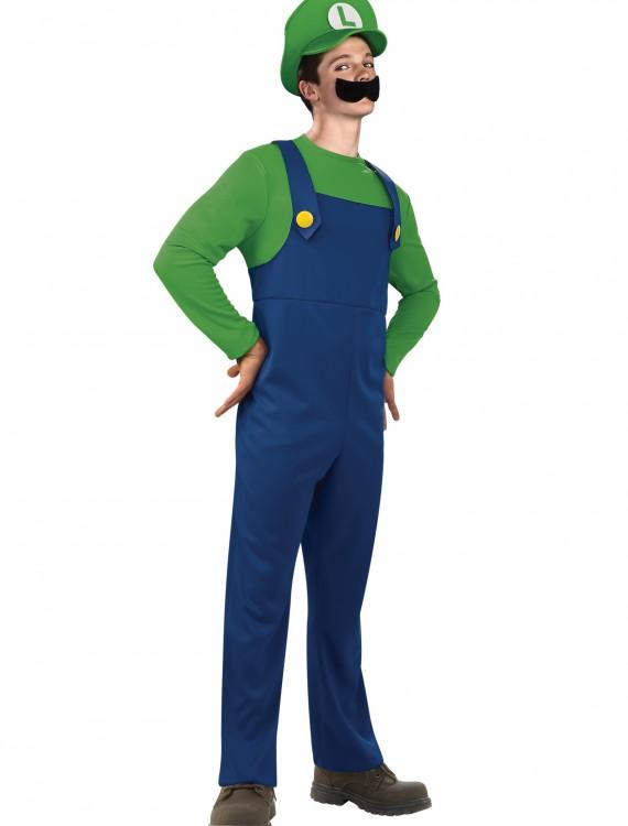 Teen Luigi Costume, halloween costume (Teen Luigi Costume)