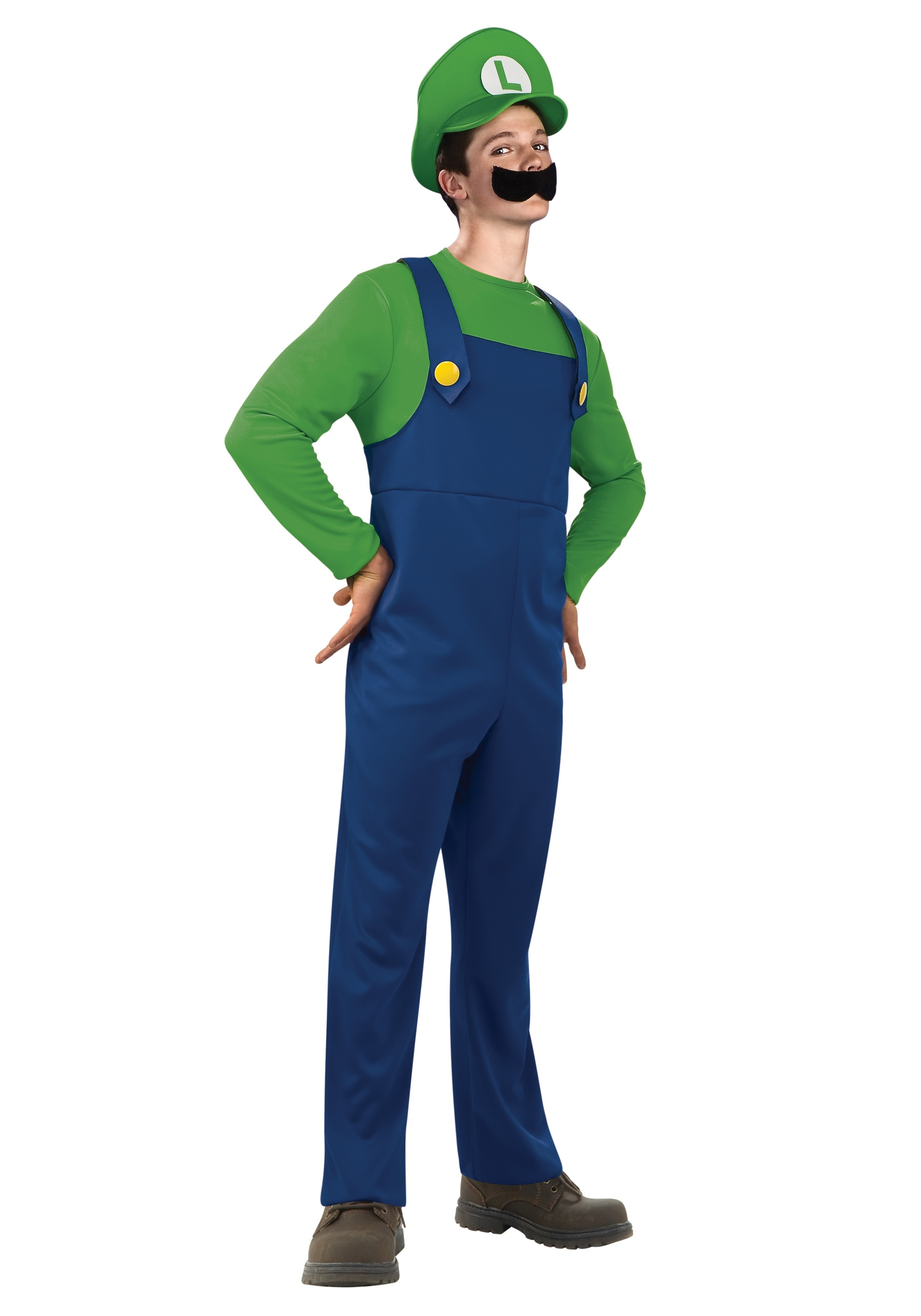 Teen Luigi Costume  sc 1 st  Halloween Costumes : halloween costumes luigi  - Germanpascual.Com