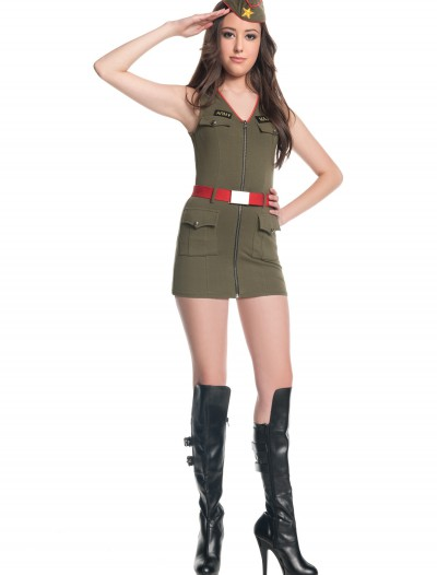 Teen Major Trouble Army Costume, halloween costume (Teen Major Trouble Army Costume)
