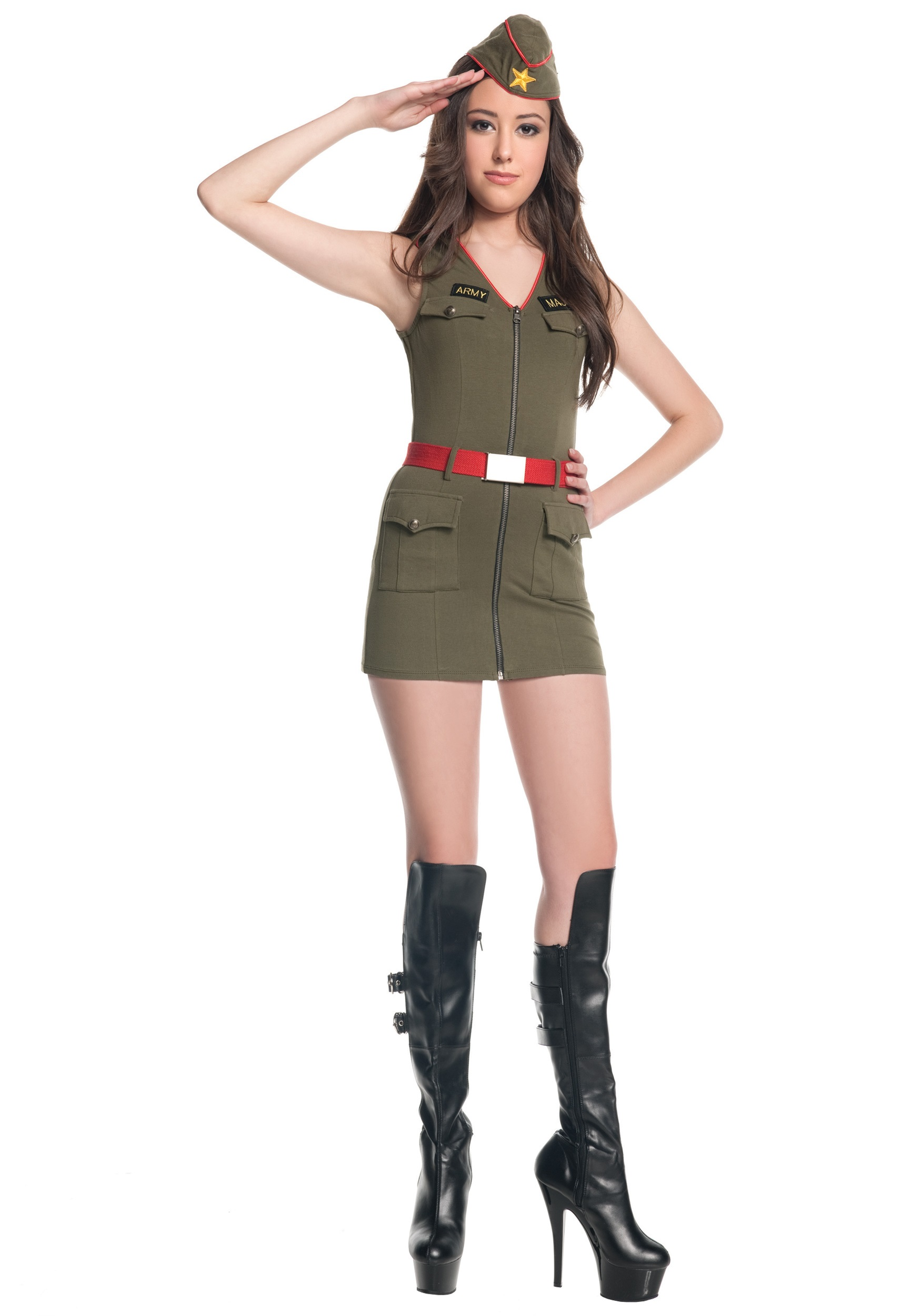 teen major trouble army costume - Halloween Army Costume
