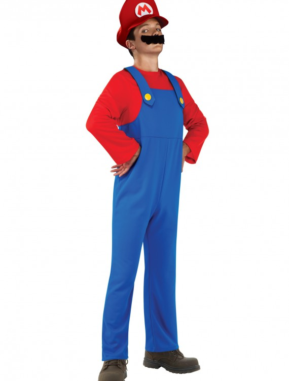 Teen Mario Costume, halloween costume (Teen Mario Costume)