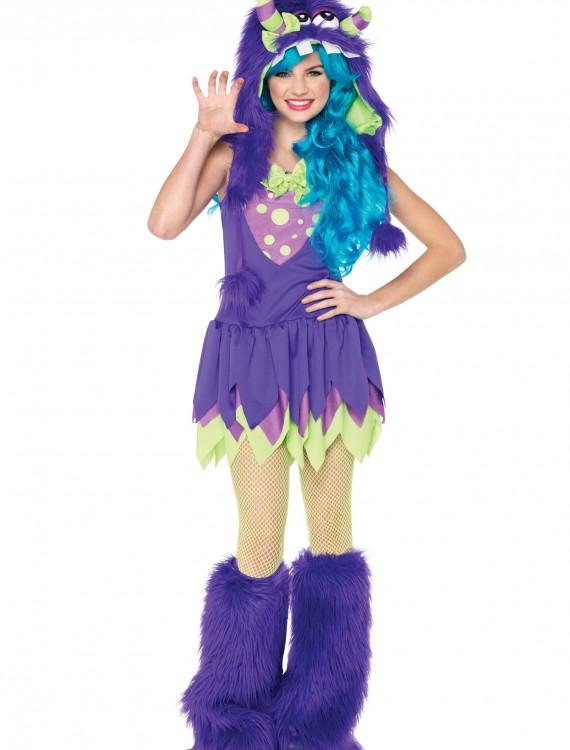 Teen Miss Gerty Growler Monster Costume, halloween costume (Teen Miss Gerty Growler Monster Costume)