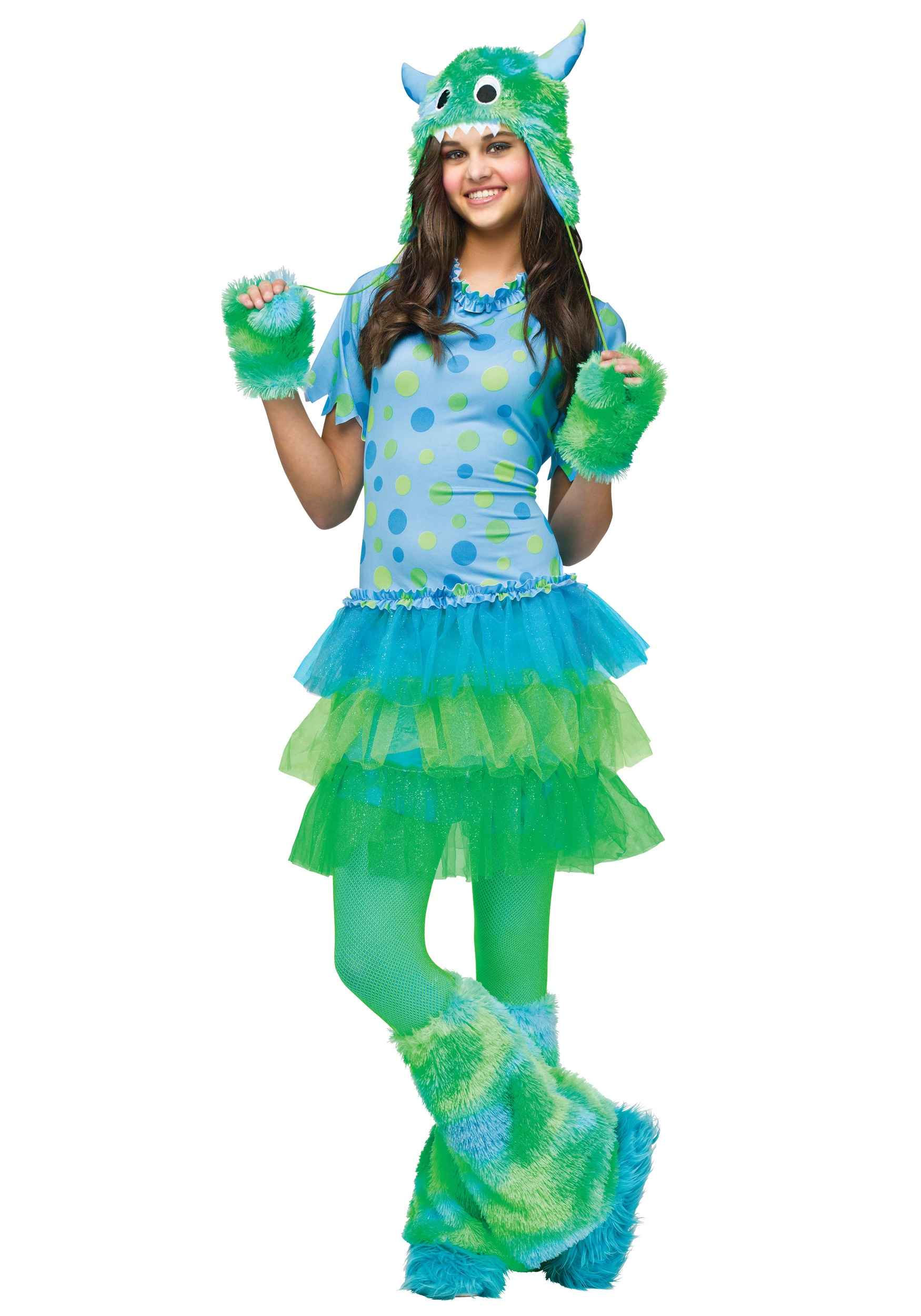 teen monster miss costume