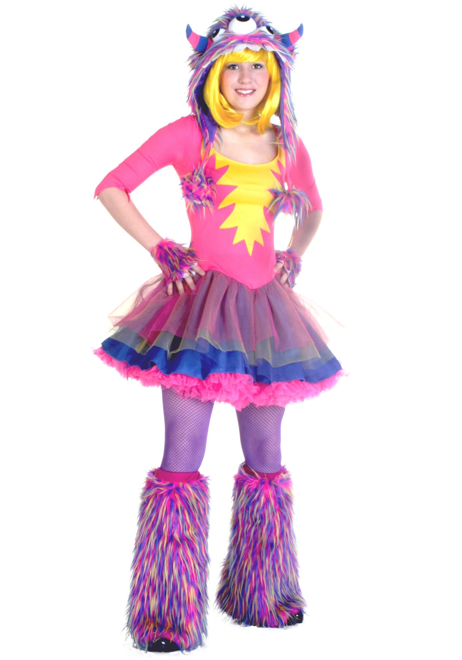 teen party monster costume - halloween costumes
