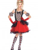 Teen Playing Card Queen Costume, halloween costume (Teen Playing Card Queen Costume)