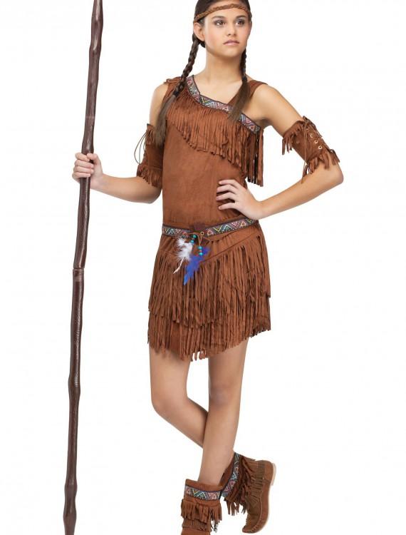 Teen Pow Wow Indian Costume, halloween costume (Teen Pow Wow Indian Costume)