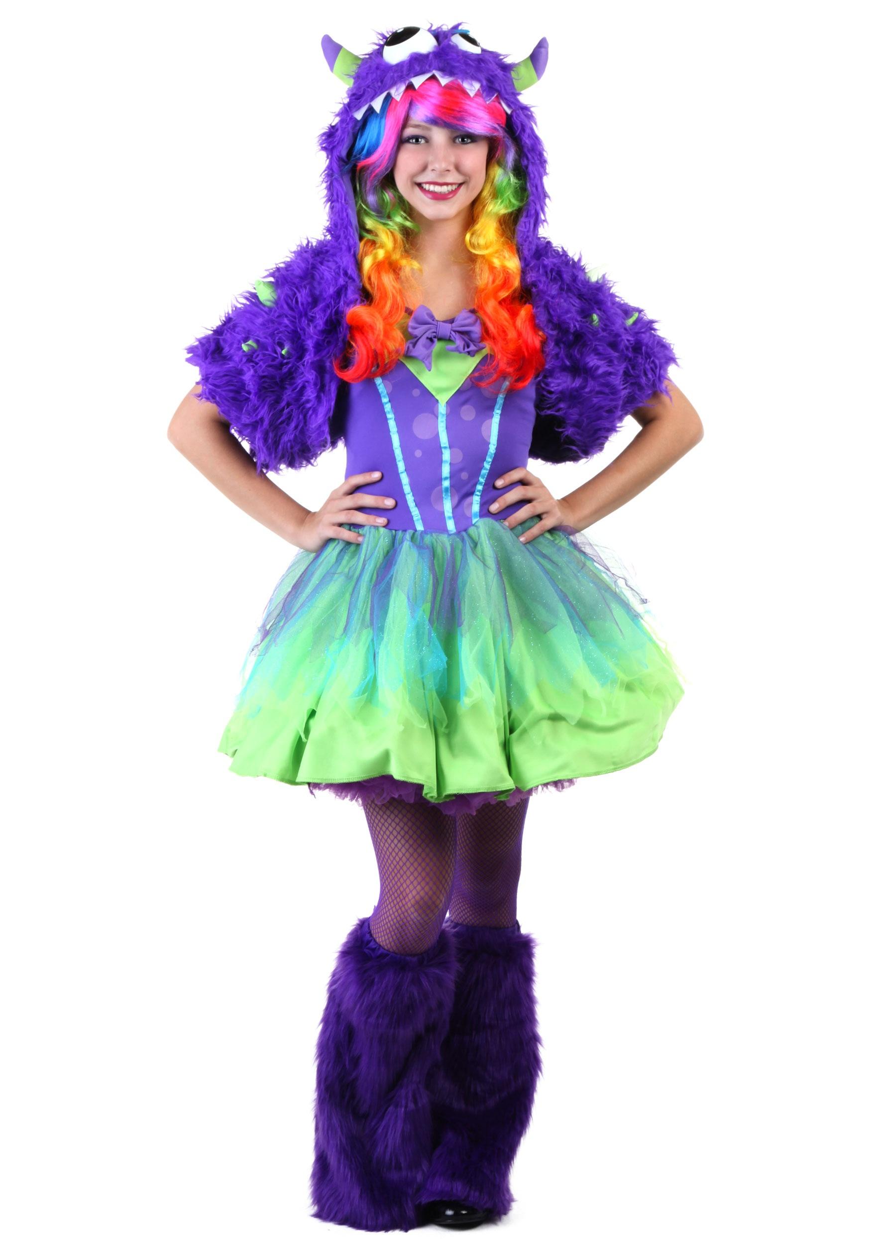 Teen Purple Posh Monster Costume  sc 1 st  Halloween Costumes & Teen Purple Posh Monster Costume - Halloween Costumes