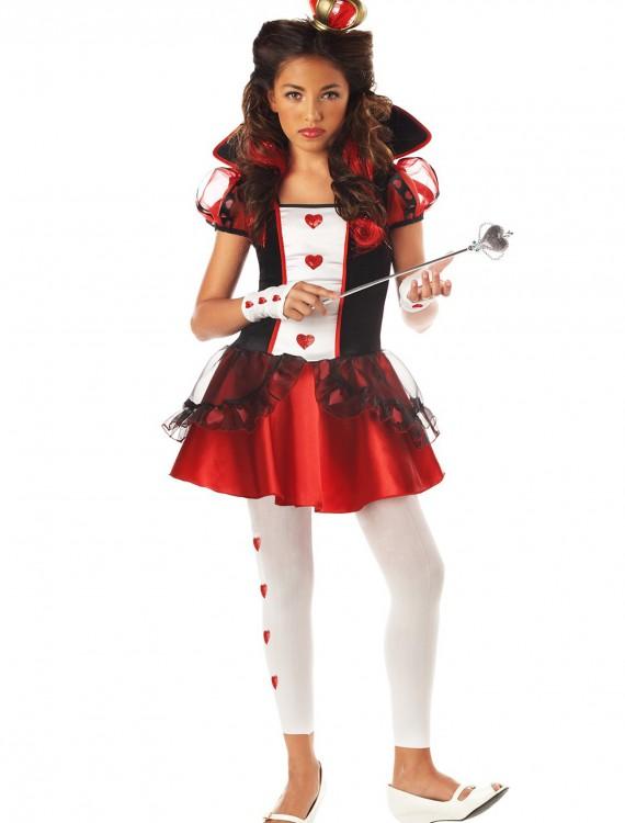 Teen Queen of Hearts Costume, halloween costume (Teen Queen of Hearts Costume)