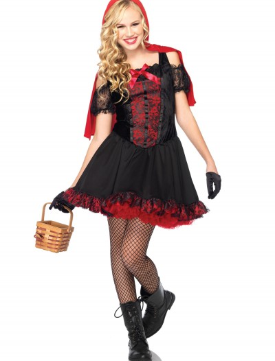 Teen Rebel Miss Red Costume, halloween costume (Teen Rebel Miss Red Costume)