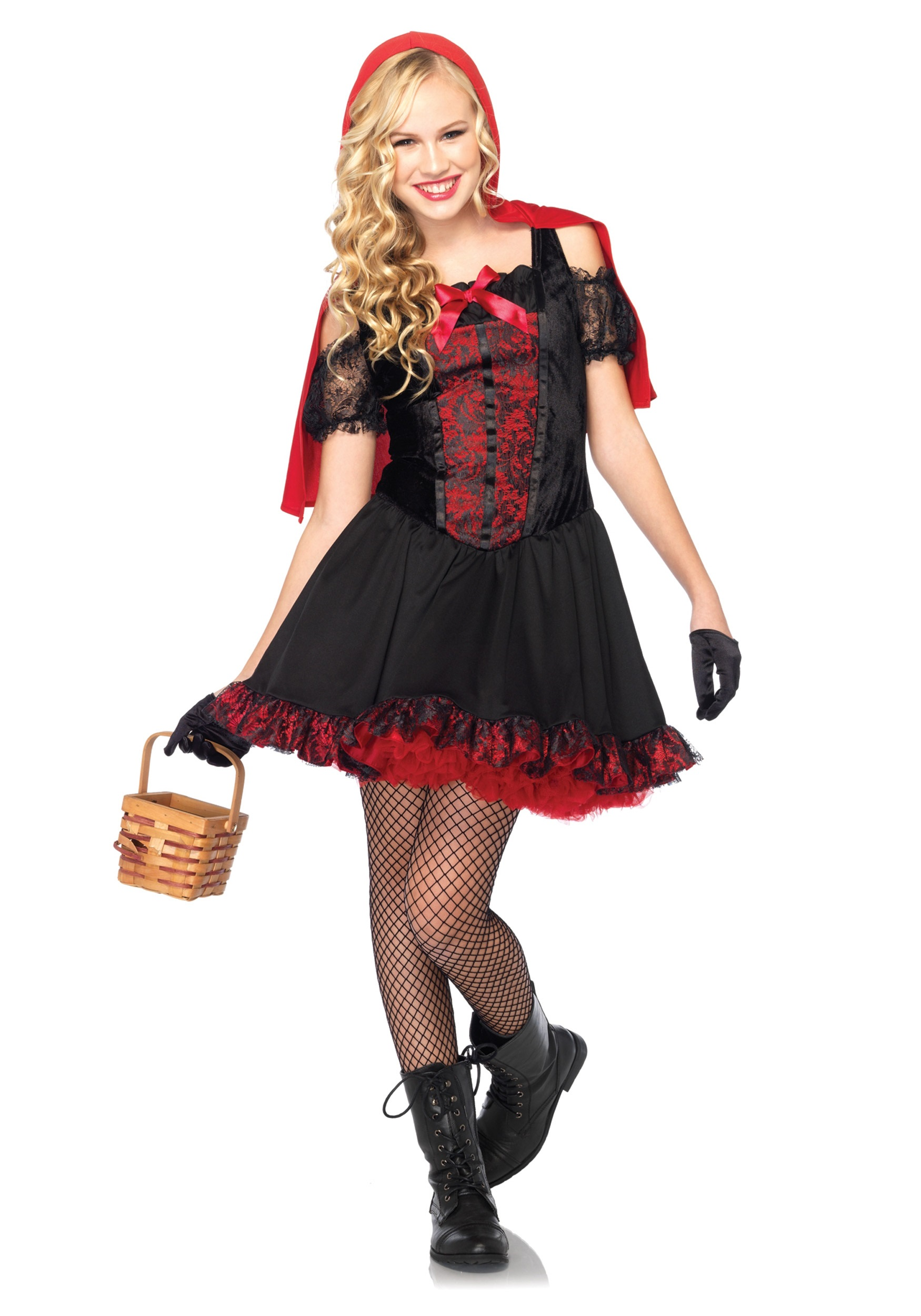 Teen Rebel Miss Red Costume Sc 1 St Halloween Costumes