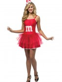 Teen Red M&M Party Dress, halloween costume (Teen Red M&M Party Dress)