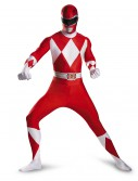 Teen Red Ranger Bodysuit Costume, halloween costume (Teen Red Ranger Bodysuit Costume)