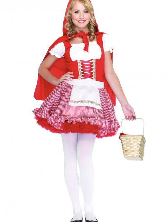 Teen Red Riding Hood Costume, halloween costume (Teen Red Riding Hood Costume)