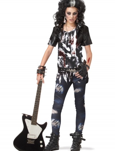 Teen Rocked Out Zombie Costume, halloween costume (Teen Rocked Out Zombie Costume)