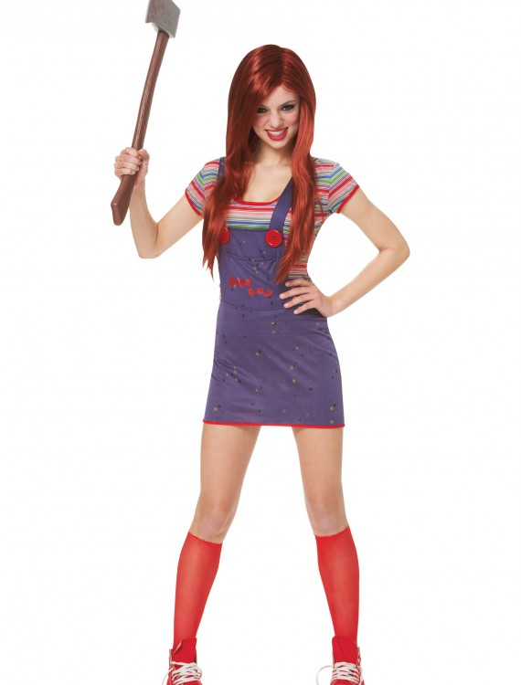 Teen Sassy Chucky Costume, halloween costume (Teen Sassy Chucky Costume)