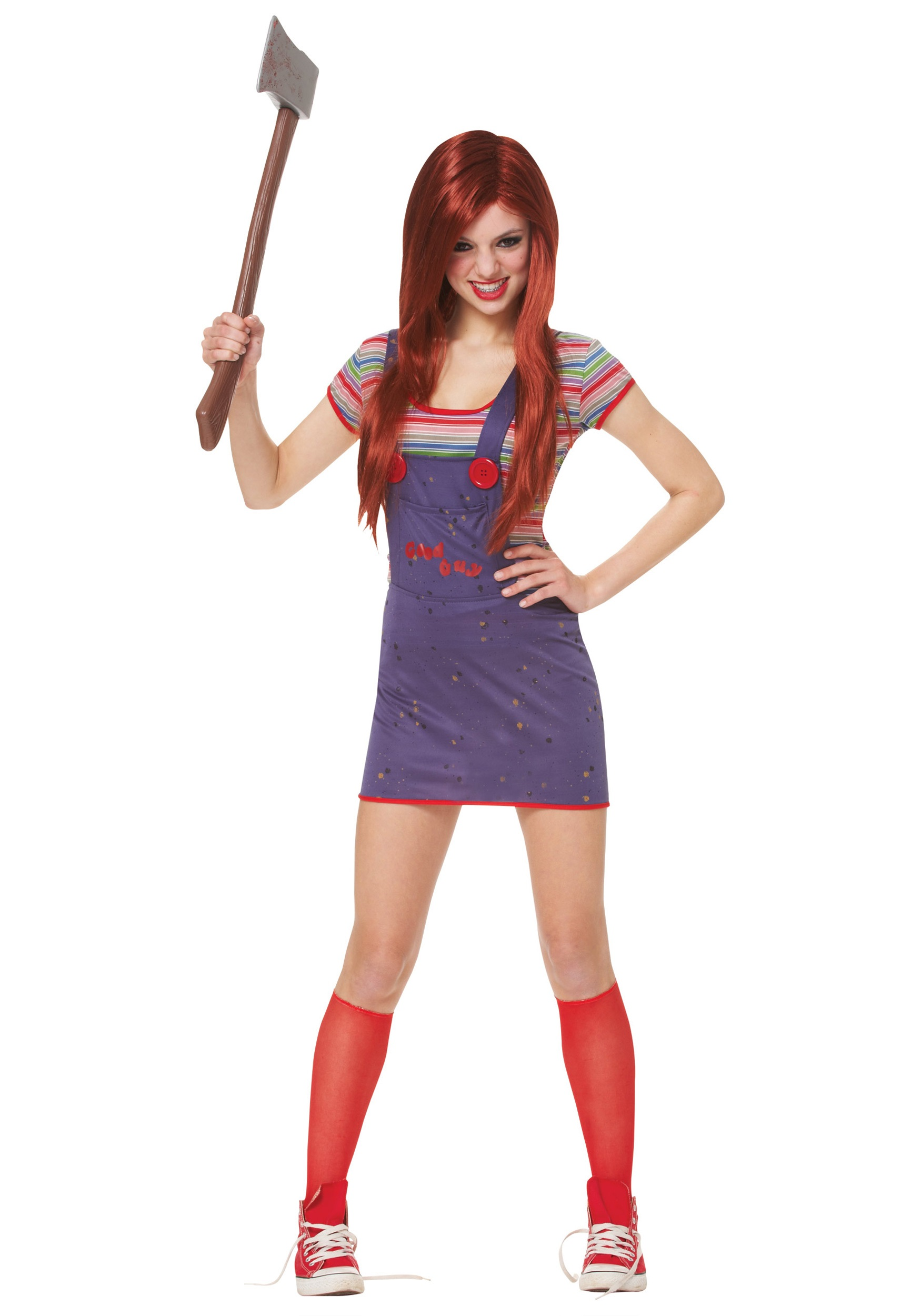 Teen Sassy Chucky Costume  sc 1 st  Halloween Costumes : cute teenager halloween costumes  - Germanpascual.Com