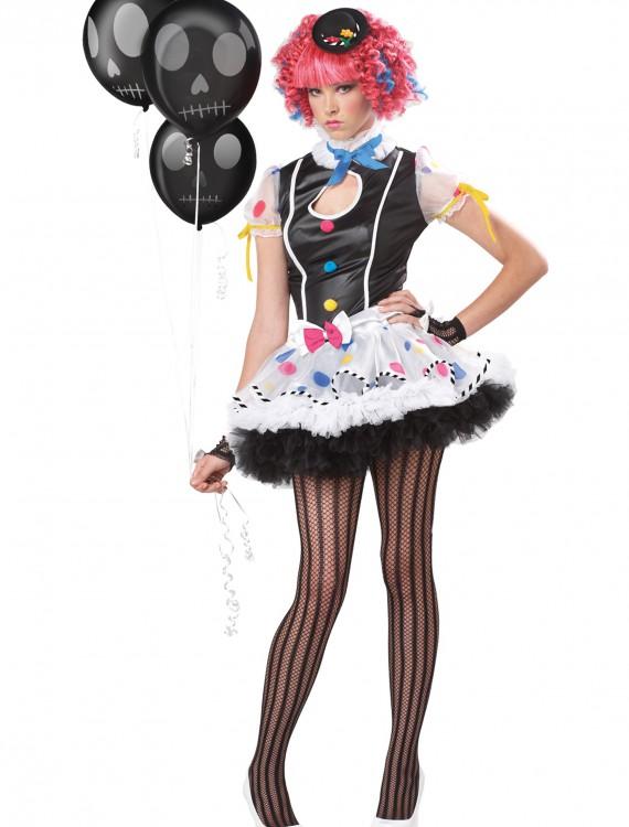 Teen Sassy Clown Costume, halloween costume (Teen Sassy Clown Costume)