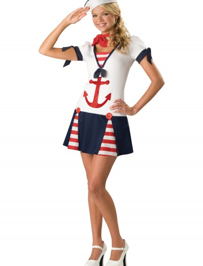Teen Sassy Sailor Costume, halloween costume (Teen Sassy Sailor Costume)