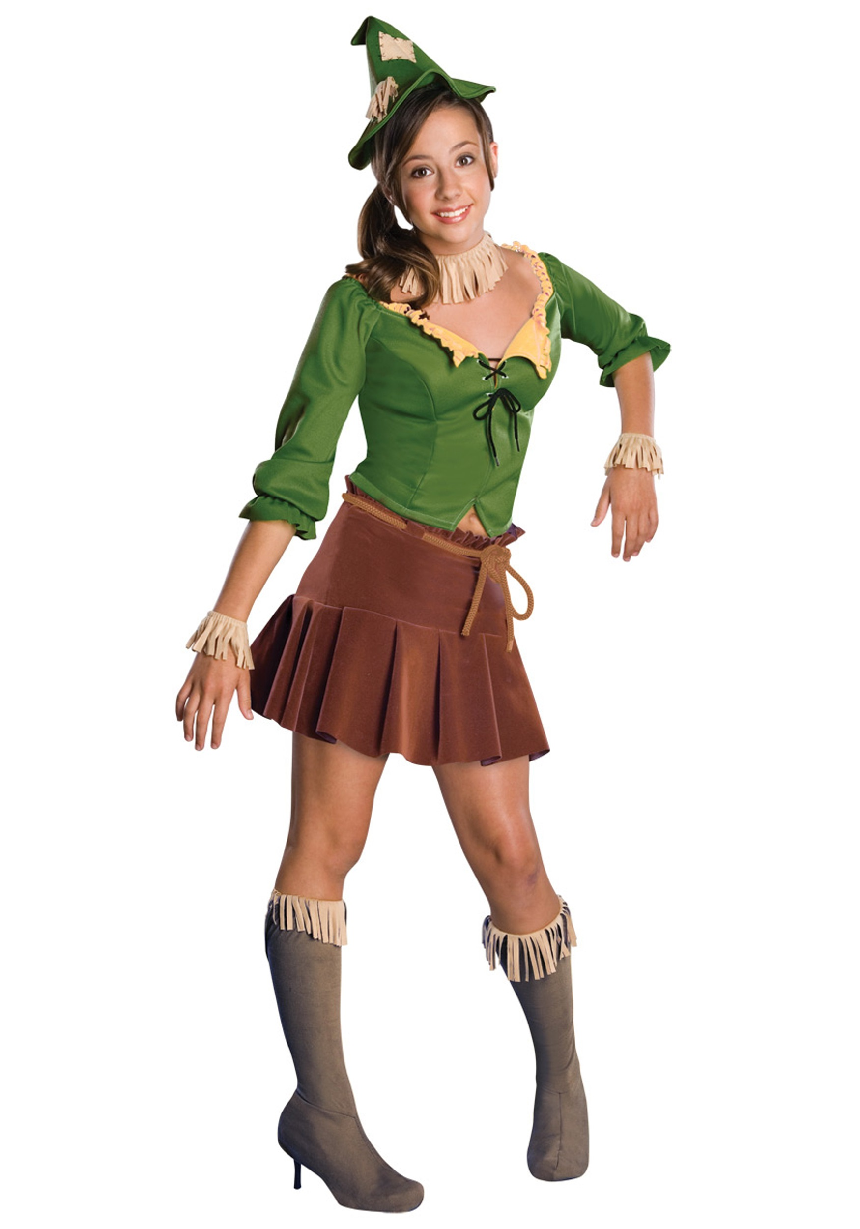 Teen Scarecrow Costume  sc 1 st  Halloween Costumes : wizard of oz characters costumes  - Germanpascual.Com