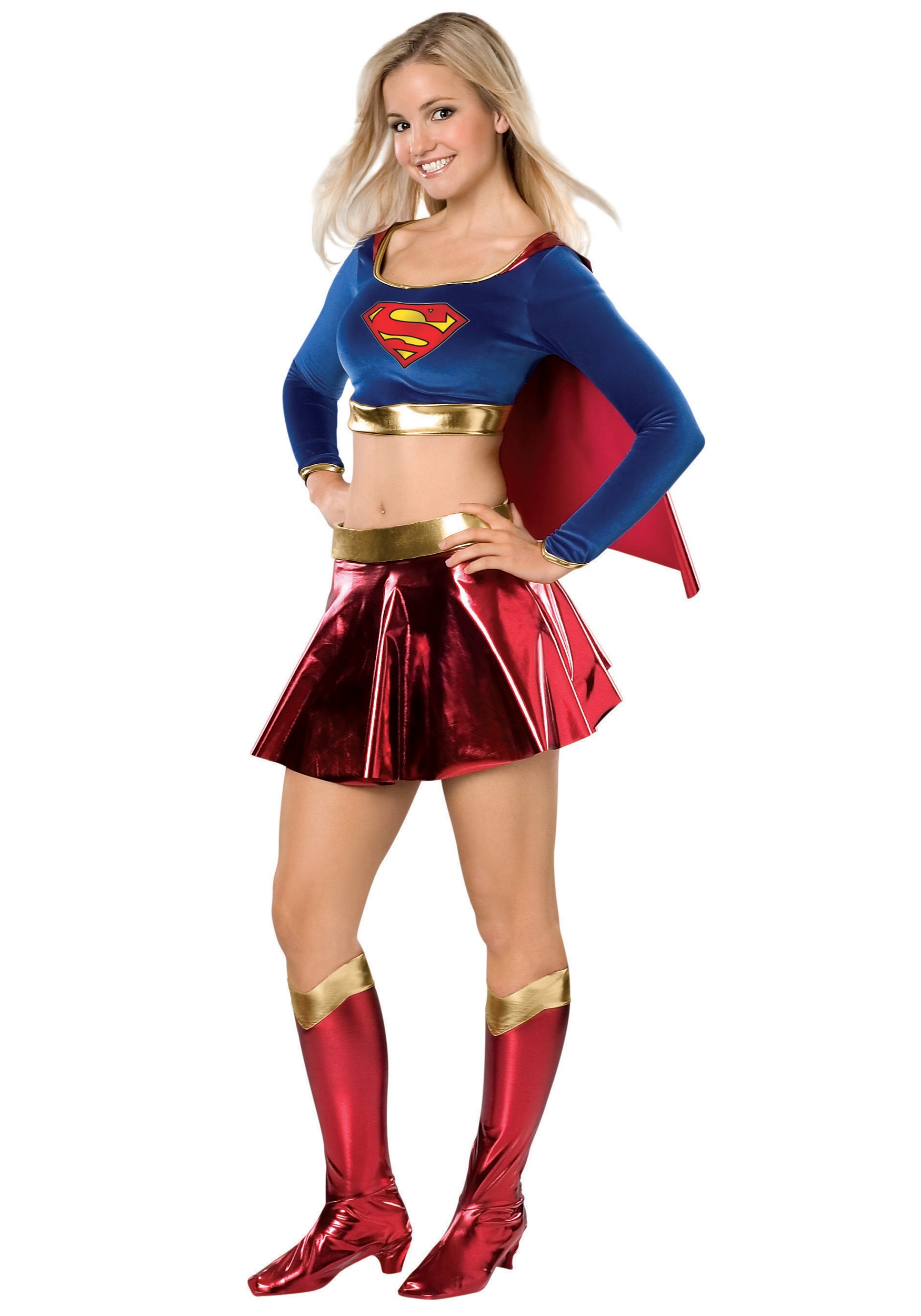 Teen Supergirl Costume  sc 1 st  Halloween Costumes & Teen Supergirl Costume - Halloween Costumes
