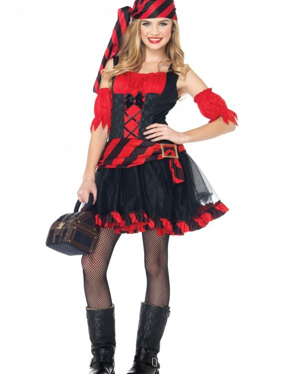 Teen Swashbuckling Pirate Costume, halloween costume (Teen Swashbuckling Pirate Costume)